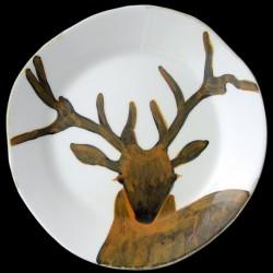 Deer - standard plate D 29 cm