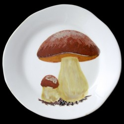 Ceps table plate D 28 cm