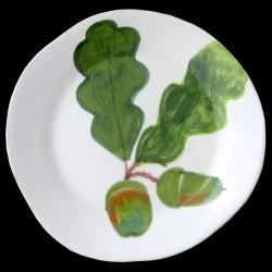 Oak dinner plate D 28 cm
