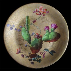 Opuntia ficus-indica Assiette XIX D 23 cm