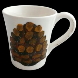 Pomme de Pin Mug H 11 cm
