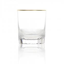 Crystal whisky glass 280ml. ROYAL collection