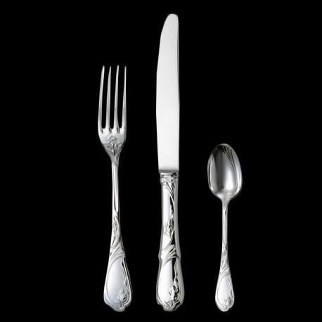 "Dinner knife ""Tulipe"" silverplated"