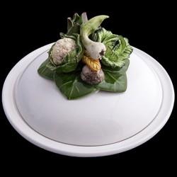 Улитки - Глубокая тарелка с колпаком Д 23 см