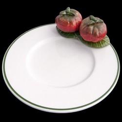 Tomates sur petite assiette D 16,6 cm
