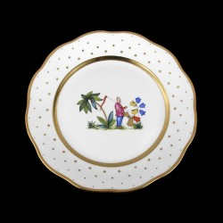Assiette de table 26cm de diamètre/ personnage 4