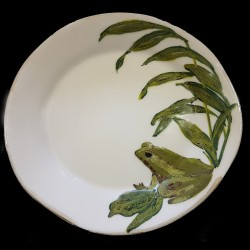 Grenouille Assiette de table