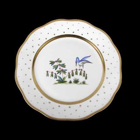 Assiette de table 26cm de diamètre/ oiseau 5