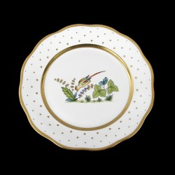 Classical plate of 26cm diameter/ bird 6