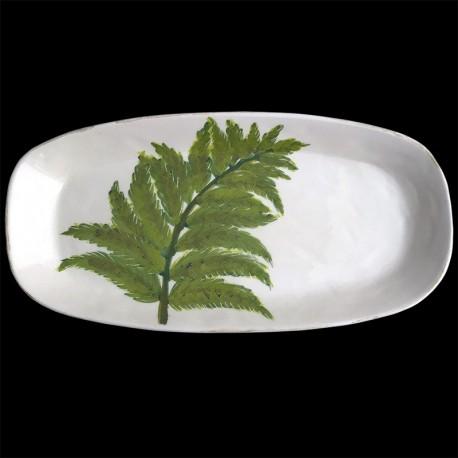Fern long dish 46 x 23 cm