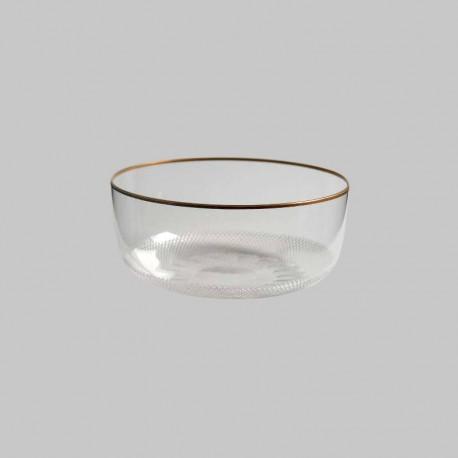 Crystal finger bowl of 12cm diameter. ROYAL collection