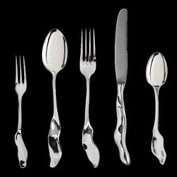 Couteau de table en argent by Sebastian Menschhorn