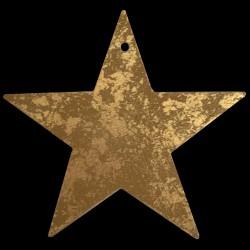 Grande étoile dorée