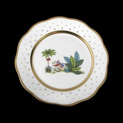 Desert plate of 23cm diameter/ bird 1
