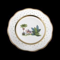Assiettes à salade de 21cm de diametre/ oiseau 1