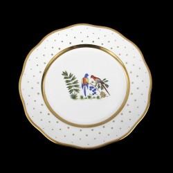 Assiettes à salade de 21cm de diametre/ oiseau 4