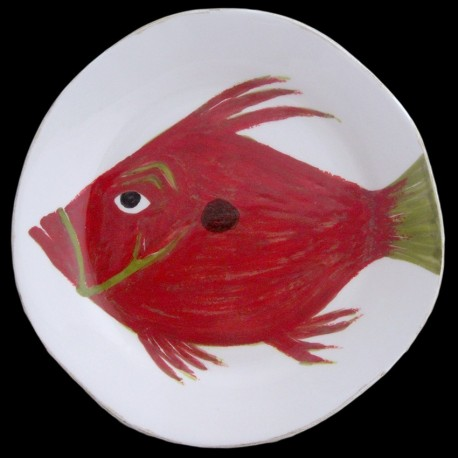 John dory fish diner table plate D 28 cm