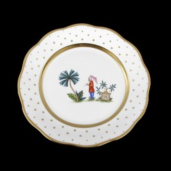 Salad plate of 21cm diameter/ character 4