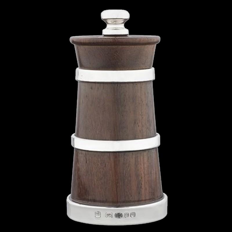 moulin poivre en bois de rose cercl d 39 argent au bain. Black Bedroom Furniture Sets. Home Design Ideas