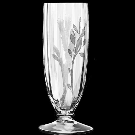 Flûte à champagne gravée Ouessant
