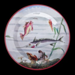 "Tin plate ""The Fantastic World"" Swordfish"