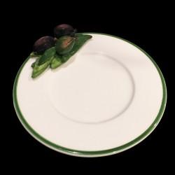 Petite assiette faïence Olives