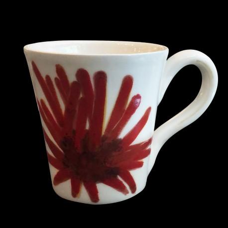 Mug faience Oursin