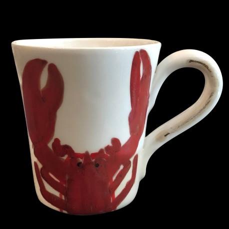 Mug faience Homard breton