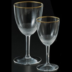 Crystal stemmed glass for the sweet wine 120ml ROYAL collection