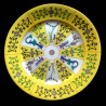 Dinner plate 26cm Siang Yellow SJ Herend