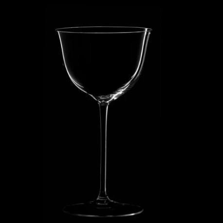 Verre à vin rouge à pied haut cristal collection Patrician Hoffmann