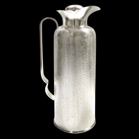 Silverplated thermic pitcher Airone Velvet - 1 L