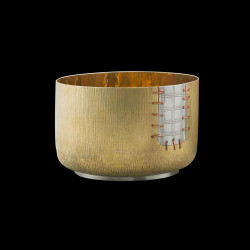 """Small cup in gilded brass """"Aichi"""""""