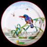 "Decorative tin plate ""The Birds"" Kingfisher"
