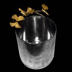 Cache-pot brindilles 1 papillon