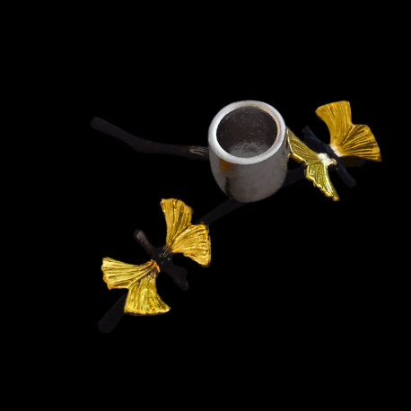 Bougeoir Brindille papillons