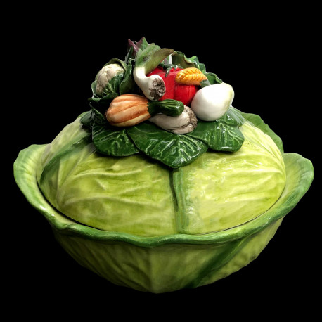 Soupière chou & légumes