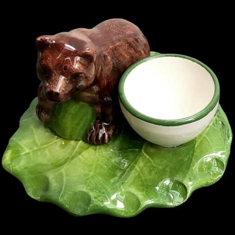 Bear egg cup