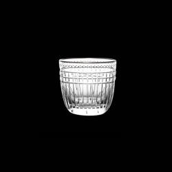 Platinum Cut Crystal Tumbler glass
