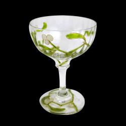 """Mistletoe"" Shot glass Edmond Lachenal"