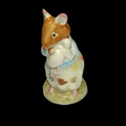 "Beatrix Potter Souris et son bébé "" Dusty and baby"" 9,5 cm"