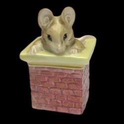 """Beatrix Potter Souris et cheminée """"Tom Thumb"""" 7,5 cm"""