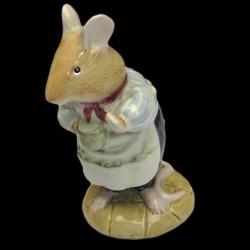 """Beatrix Potter Souris avec tasse """"Mr Apple"""" 9 cm"""
