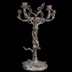 Silver Bronze Candelabra 75 cm