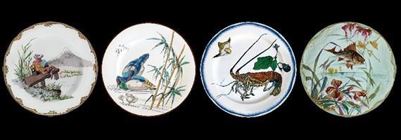 Decorative tin plates