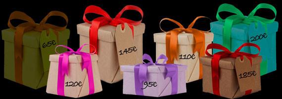 Cadeaux de 60 € à 200 €