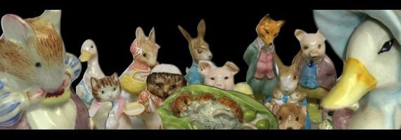 Beatrix Potter vintage world