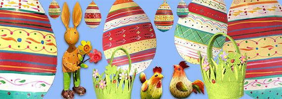 Pâques et printemps